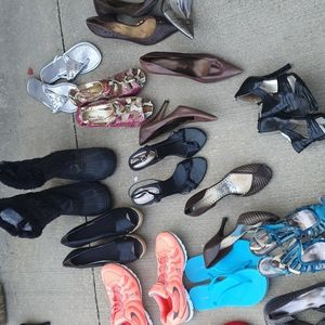20 pair of shoes.